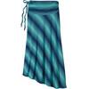 Patagonia W's Kamala Skirt Reflection Stripe: Howling Turquoise